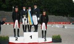 Die Süddeutsche Championesse der Berufsreiter heißt Ilona Kress (Foto: Löhr)