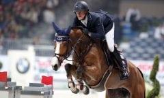 Niels Bruynseels (BEL) und Gracia de Munze. Photo: Stefano Grasso / Jumping Verona