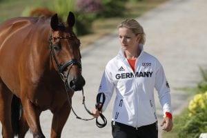 Julia Krajewski und Samourai du Thot, hier bei den Olympischen Spielen in Rio 2016. (Foto: Stefan Lafrentz)