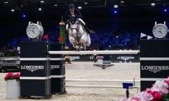 Daniel Deußer und Cornet d'Amour gewinnen den Longines Grand Prix bei den Longines Masters of Paris. (Foto: Laurent Vu für EEM)