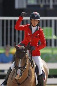 Janika Sprunger (SUI) und Bonne Chance werden bald zusammen im Parcours zurückerwartet. (Archivfoto www.sportfotos-lafrentz.de)