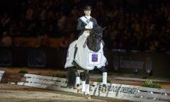 Isabell Werth und Weihegold, hier bei ihrem Sieg in Stuttgart. (Foto: Stefan Lafrentz)