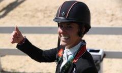 Charlotte Dujardin hier in Rio 2016. (Foto: Stefan Lafrentz)
