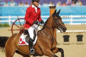 Paul Estermann und  Castlefield Eclipse bei den  Olympischen Spielen in London 2012. (Foto: Stefan Lafrentz)