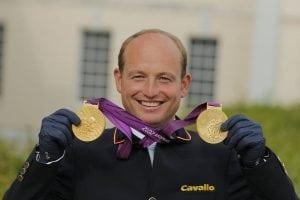JUNG Michael (GER) London - Olympische Spiele 2012  Siegerehrung Einzelwertung © www.sportfotos-lafrentz.de/Stefan Lafrentz