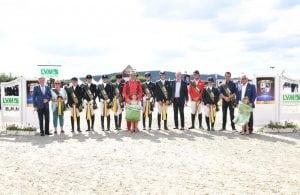 Das Siegerteam im LVM Masters der Landesverbände 2017 aus Weser-Ems. (Foto: Fotodesign gr. Feldhaus)
