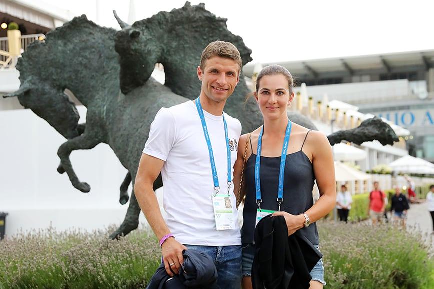 Thomas und Lisa Müller zu Gast beim CHIO Aachen. (Foto: CHIO Aachen/ Andreas Steindl)