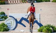 Laura Klaphake und Catch me if you can bei den Tryon - FEI World Equestrian Games™ 2018 © www.sportfotos-lafrentz.de/Stefan Lafrentz