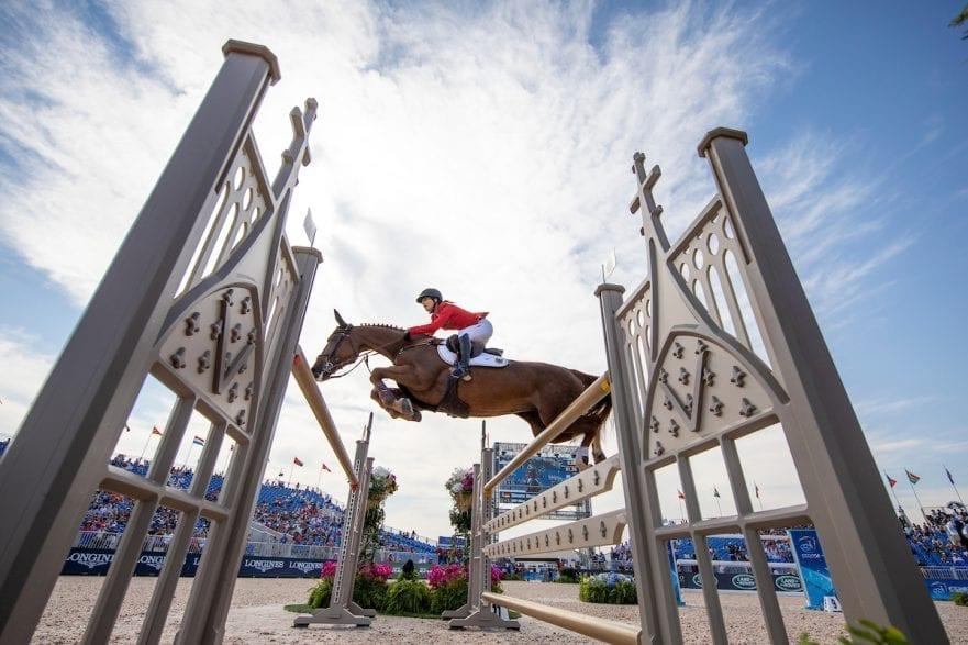 BLUM Simone (GER), DSP Alice Tryon - FEI World Equestrian Games™ 2018 FEI World Individual Jumping Championship Third cometition - Round A 3. Qualifikation Einzelentscheidung 1. Runde 23. September 2018 © www.sportfotos-lafrentz.de/Stefan Lafrentz