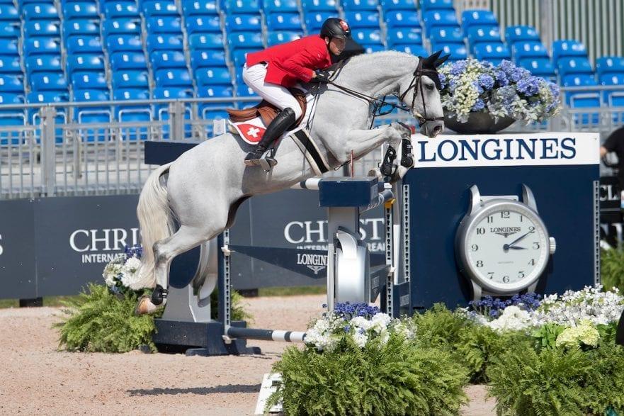 Fuchs Martin, SUI, Clooney Tryon - FEI World Equestrian Games™ 2018 Springen Zeitspringprüfung Teamwertung Einzelwertung 1 Runde 19. September 2018 © www.sportfotos-lafrentz.de/Dirk Caremans