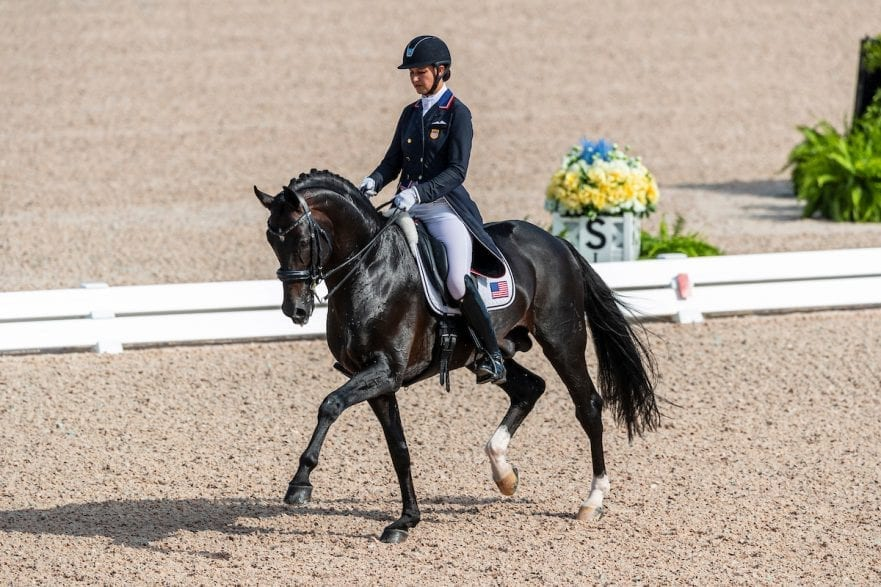 LYLE Adrienne (USA), Salvino Tryon - FEI World Equestrian Games™ 2018 Grand Prix de Dressage Teamwertung und Einzelqualifikation 12. September 2018 © www.sportfotos-lafrentz.de/Stefan Lafrentz