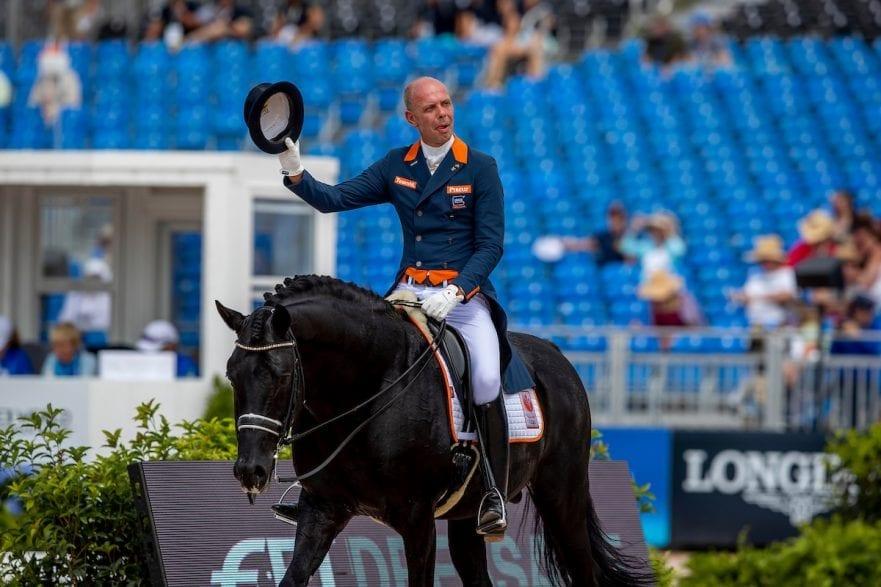 MINDERHOUD Hans Peter (NED), Glock's  Dream Boy N.O.P. Tryon - FEI World Equestrian Games™ 2018 Grand Prix Special Einzelentscheidung 14. September 2018 © www.sportfotos-lafrentz.de/Stefan Lafrentz