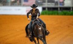 SCHUMACHER Julia (GER), Couers little Tyke Tryon - FEI World Equestrian Games™ 2018 Reining Finale Einzelentscheidung September 2018 © www.sportfotos-lafrentz.de/Stefan Lafrentz