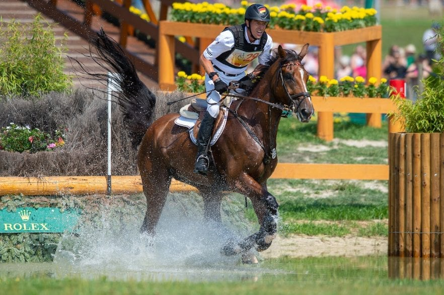 Kai Rüder (GER) & Colani Sunrise - DHL Prize - Eventing Cross Country - CHIO Aachen 2018 - Aachen, Germany - 21 July 2018