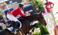 Bruynseels Niels, BEL, Cas de Liberte Tryon - FEI World Equestrian Games™ 2018 Springen Zeitspringprüfung Teamwertung Einzelwertung 1 Runde 19. September 2018 © www.sportfotos-lafrentz.de/Dirk Caremans