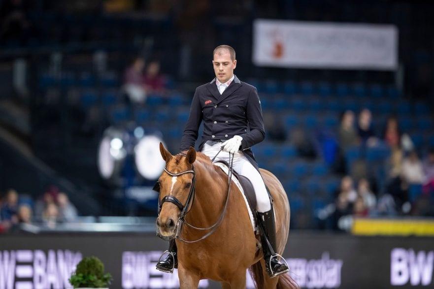 WANDRES Frederic (GER), Duke of Britain Stuttgart - German Masters 2018 Grand Prix de Dressage FEI Dressage World Cup CDI-W 16. November 2018 © www.sportfotos-lafrentz.de/Stefan Lafrentz
