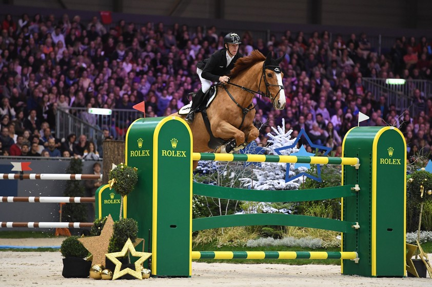 Marcus Ehning mit Pret A Tout (Photo: Rolex Grand Slam / Kit Houghton)