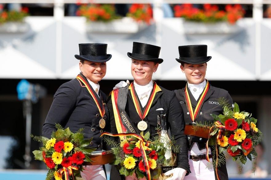 Schneider, Dorothee (GER); Werth, Isabell (GER); Sprehe, Kristina (GER)   Balve - Optimum 2016 © Stefan Lafrentz