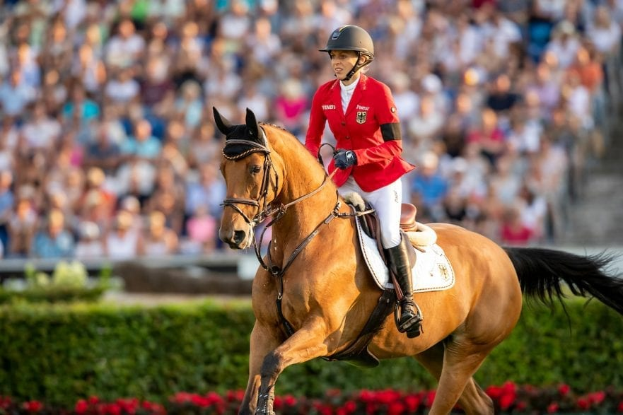 KLAPHAKE Laura (GER), Catch Me If You Can Old Aachen - CHIO 2018 Mercedes Benz Nationenpreis 19. Juli 2018 © www.sportfotos-lafrentz.de/Tanja Becker