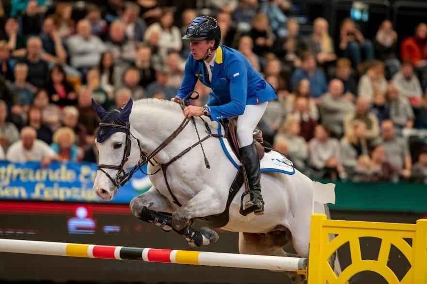 AHLMANN Christian (GER), Caribis Z Leipzig - Partner Pferd 2019 Longines FEI Jumping World Cup Qualifikation CSI-W 18. Januar 2019 © www.sportfotos-lafrentz.de/Stefan Lafrentz