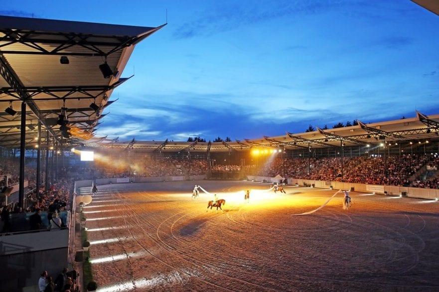 Die Show Pferd und Sinfonie beim CHIO Aachen 2019 (c) CHIO