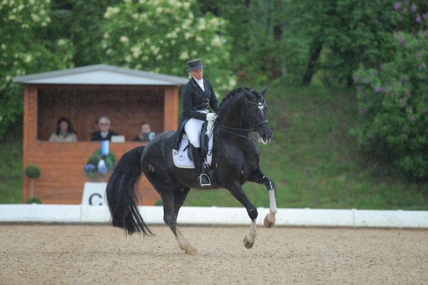Gräf, Uta, Le Noir München - Pferd International 2013 Grand Prix © www.sportfotos-lafrentz.de/Stefan Lafrentz