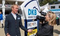 WILL David (GER) im Interview Münster - Turnier der Sieger 2018 Marktkauf-Cup DKB-Riders Tour, Qualifikation zur Wertungsprüfung 25. August 2018 © www.sportfotos-lafrentz.de/Stefan Lafrentz