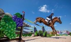 STAUT Kevin (FRA), Reveur de Hurtebise HDC Tryon - FEI World Equestrian Games™ 2018 2. Qualifikation Teamwertung 2. Runde 21. September 2018 © www.sportfotos-lafrentz.de/Stefan Lafrentz
