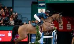 BARYARD-JOHNSSON Malin (SWE), H&M Indiana  Leipzig - Partner Pferd 2019 Longines FEI Jumping World Cup Qualifikation CSI-W 18. Januar 2019 © www.sportfotos-lafrentz.de/Stefan Lafrentz