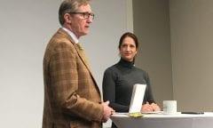 Dr.Funke mit Stefanie Wolf (Foto:horseweb)