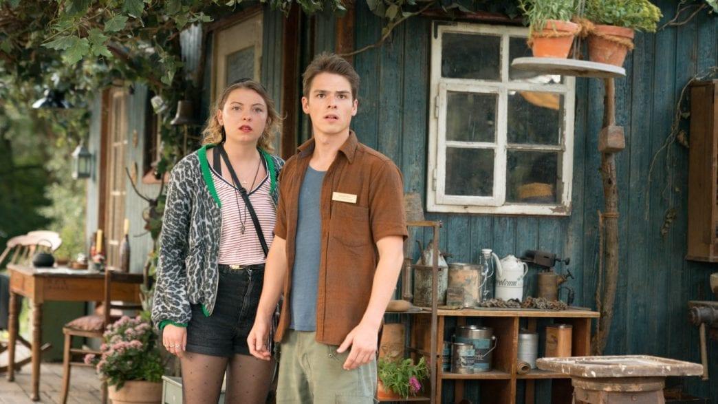 Marvin Linke als Sam, neben Amber Bongard als Fanny in OSTWIND-ARIS ANKUNFT.  Foto © 2019 Constantin Film Verleih GmbH/SamFilm GmbH/Marc Reimann