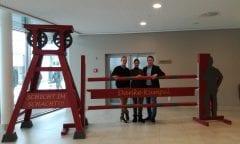 v.l.n.r. Michael Beckmann, Stefanie Wolf, Karl Brocks jun. (Foto:horseweb)
