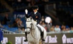Caetano, Maria (POR) Coroado Stuttgart - German Masters 2016 © www.sportfotos-lafrentz.de