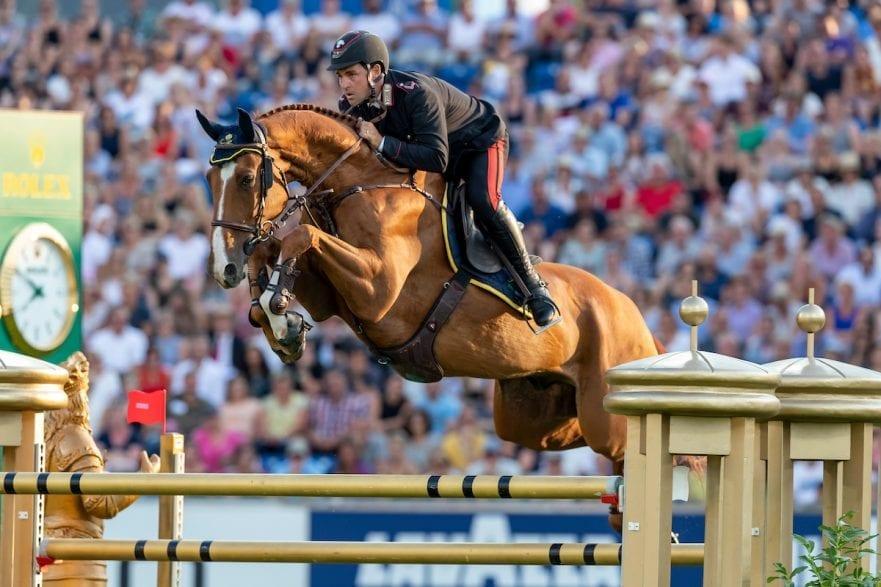 GAUDIANO Emanuele (ITA), Chalou Aachen - CHIO 2018 Mercedes Benz Nationenpreis 19. Juli 2018 © www.sportfotos-lafrentz.de/Stefan Lafrentz