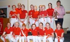 Siegermannschaft Kreis Borken. Foto: Agnes Erdmann