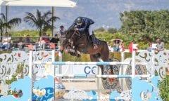 Erstmals unter den Top-Drei der Trofeo El Corte Inglés - Emar Vinkelau und Montendra W. (Foto: Frank Fotistica)