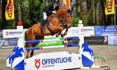 Tom Schewe aus Stadthagen hat in der Mittleren Tour mit Fendt BB den Tagessieg bei den Lastruper Spring Days geholt. (Foto: Rüchel)