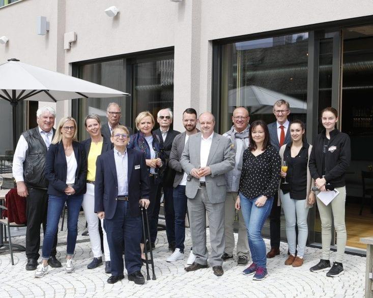Die Teilnehmer des Presselunchs.(Foto: Roger Müller)