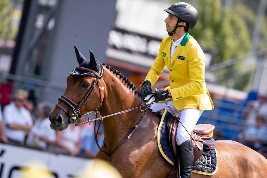 MANSUR Yuri (BRA), hier auf Ibelle van de Grote Haart in Aachen - CHIO 2018 Preis von Nordrhein-Westfalen 20. Juli 2018 © www.sportfotos-lafrentz.de/Stefan Lafrentz