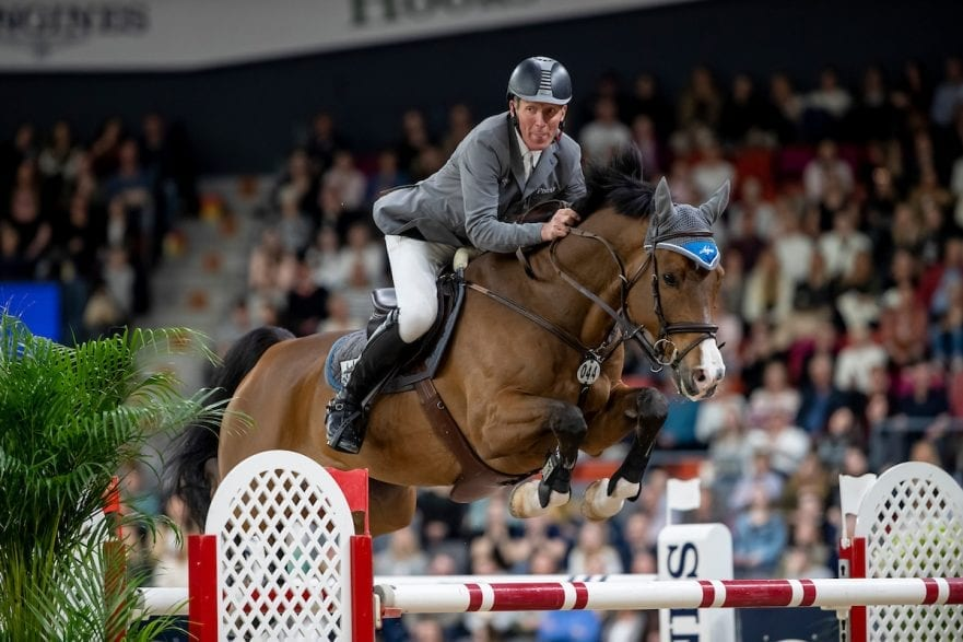 BEERBAUM Ludger (GER), Cool Feeling Göteborg - Gothenburg Horse Show 2019 Longines FEI World Cup™ Final II - Jump-Off/Stechen Int. jumping competition with jump-off (1.50 - 1.60 m) Longines FEI Jumping World Cup™ Final and FEI Dressage World Cup™ Final 05. April 2019 © www.sportfotos-lafrentz.de/Stefan Lafrentz