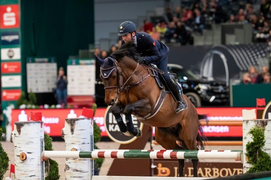 DE LUCA Lorenz (ITA), Armitages Boy Leipzig - Partner Pferd 2019 Eröffnungsspringen 17. Januar 2019 © www.sportfotos-lafrentz.de/Stefan Lafrentz