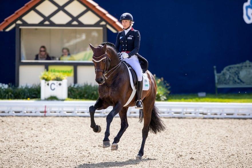 KLIMKE Ingrid (GER), Franziskus 15 Hagen - Horses and Dreams 2019  Grand Prix de Dressage CDI4* Preis vom Helenenhof der Familie Schwiebert 25. April 2019 © www.sportfotos-lafrentz.de/Stefan Lafrentz