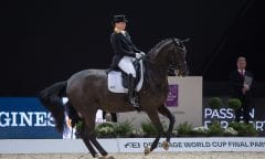 Isabell WERTH (GER) & Weihegold OLD - Grand Prix Freestyle - FEI World Cup™ Dressage Final - FEI World Cup™ Dressage Final - Longines FEI World Cup Finals Paris - Accor Hotels Arena, Bercy, Paris, France - 14 April 2018