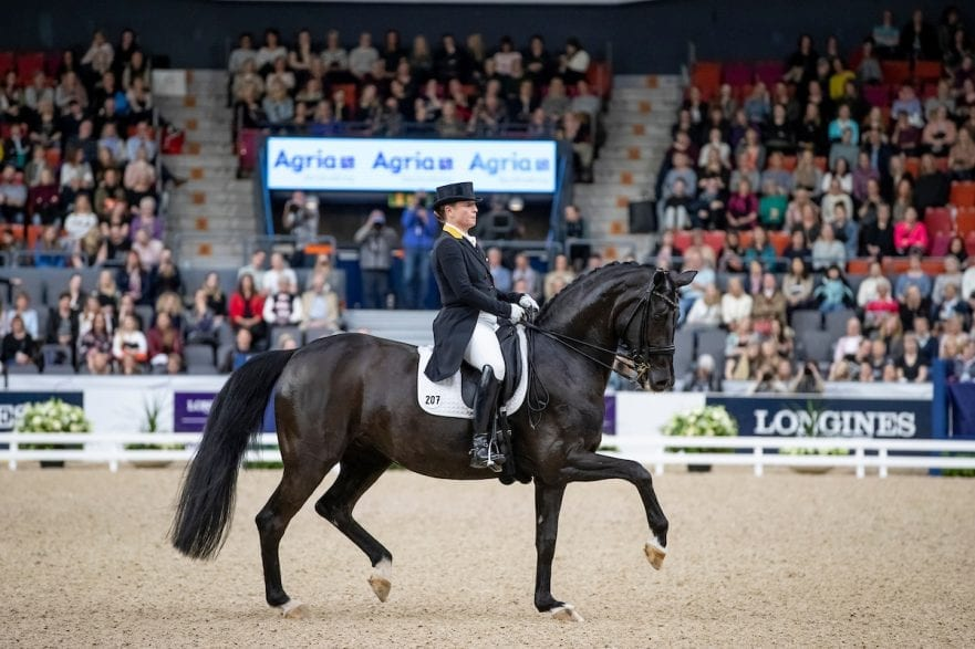 WERTH Isabell (GER), Weihegold OLD Göteborg - Gothenburg Horse Show 2019  FEI Dressage World Cup™ Final II Grand Prix Freestyle/Kür Longines FEI Jumping World Cup™ Final and FEI Dressage World Cup™ Final 06. April 2019 © www.sportfotos-lafrentz.de/Stefan Lafrentz