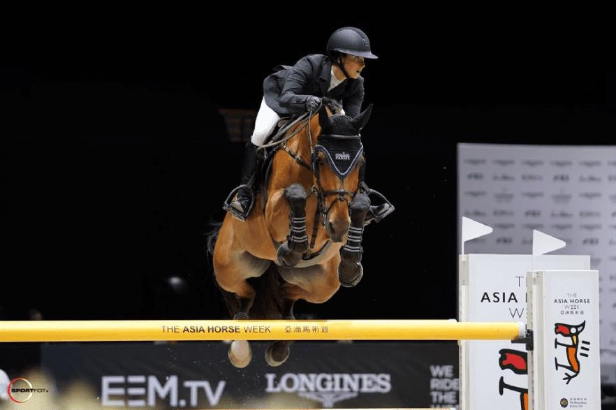 Adrienne Sternlicht and Fantast. Photo by Sportfot