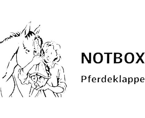 logo notbox pferdeklappe