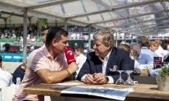 Carl Graf von Hardenberg im Interview mit ClipMyHorse.tv                        Foto: Stefan Lafrentz