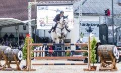 Der Sieger Christian Hess im Preis der Kreis-Sparkasse Northeim.          Foto: Benedikt von Loebell