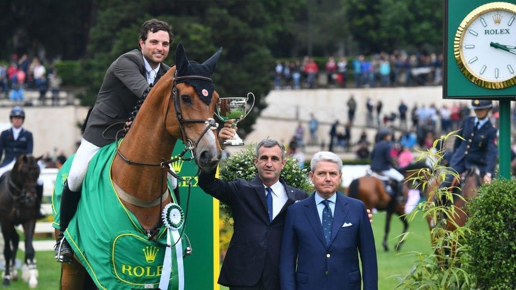 Daniel Bluman gewinnt den Rolex Grand Prix am Piazza die Siena. Foto: Simone Ferraro