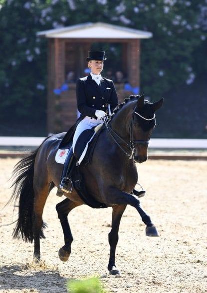 Jessica von Bredow-Werndl und TSF Dalera (Foto: Maximilian Schreiner)